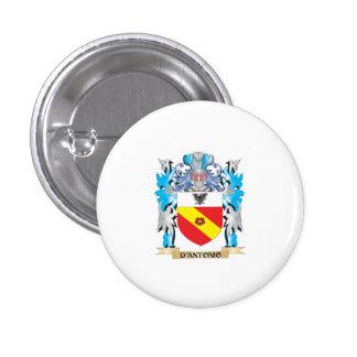 D'Antonio Coat of Arms - Family Crest Pin