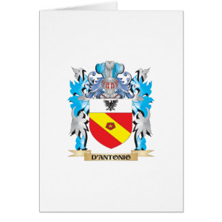 D'Antonio Coat of Arms - Family Crest Cards