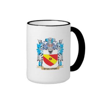 D'Antonio Coat of Arms - Family Crest Mugs