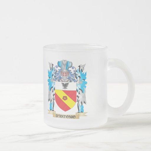 D'Antonio Coat of Arms - Family Crest Mug