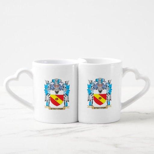 D'Antonio Coat of Arms - Family Crest Lovers Mug