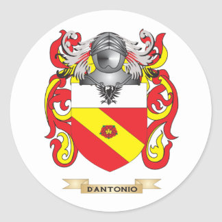 D'Antonio Coat of Arms Sticker