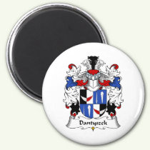 Dantyszek Family Crest Magnet