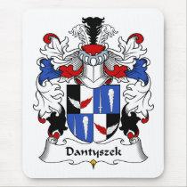 Dantyszek Family Crest Mousepad