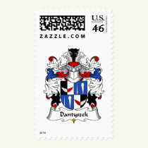 Dantyszek Family Crest Stamps