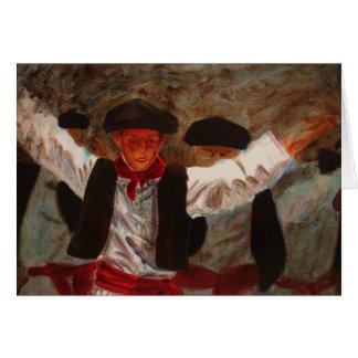 Dantzaritxiti - Basque Dancer Card