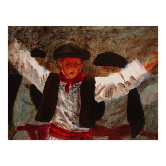 Dantzaritxiti (Basque Dancer) Postcard
