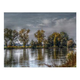 Danube at Straubing/Bavaria Postcard
