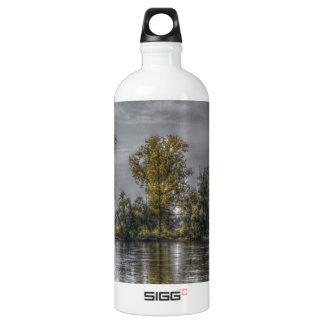Danube at Straubing/Bavaria Water Bottle
