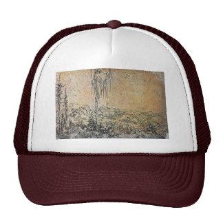 Danube Landscape Near Krems By Huber Wolf Trucker Hat