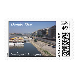 Danube River, Budapest, Hungary Stamps