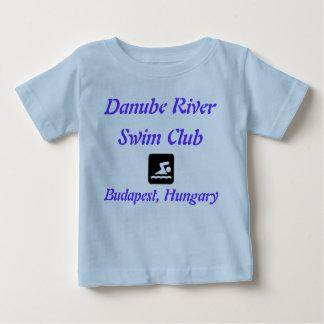 Danube River Swim Club, Budapest, Hungary Baby T-Shirt