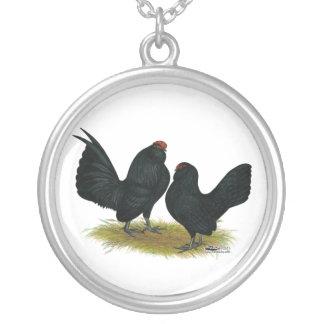 D'Anvers Black Bantams Personalized Necklace