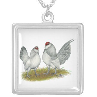 D'Anvers Self Blue Bantams Personalized Necklace