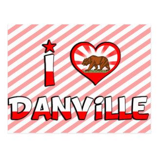 Danville, CA Postcard