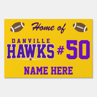 Danville High School; Hawks Sign