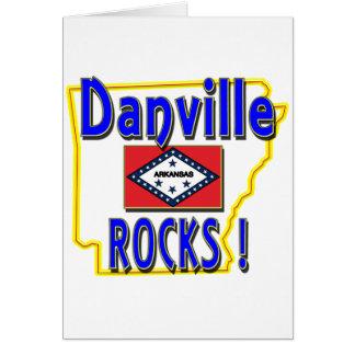 Danville Rocks ! (blue) Card