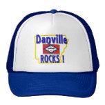 Danville Rocks ! (blue) Mesh Hats