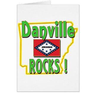 Danville Rocks ! (green) Card