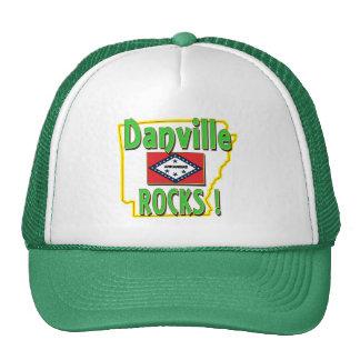 Danville Rocks ! (green) Trucker Hat