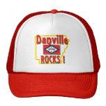 Danville Rocks ! (red) Mesh Hat