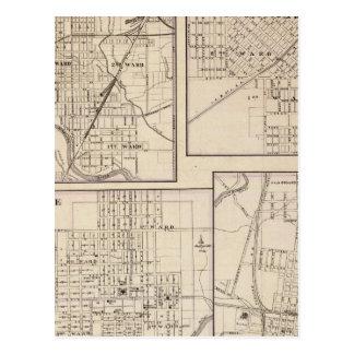 Danville, Shelbyville, Atlanta y Monticello Postales