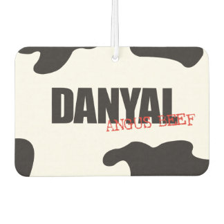 "Danyal ""Angus Beef"" Trendy Air Freshener"