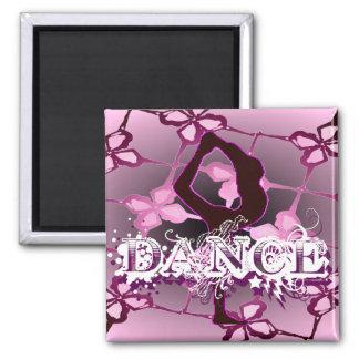 Danza 01 imán de frigorifico