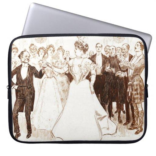 Danza 1899 del cumpleaños fundas ordendadores