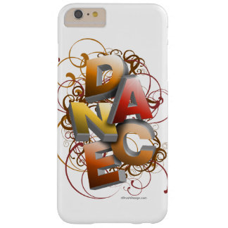 danza 3D (caída) Funda Para iPhone 6 Plus Barely There