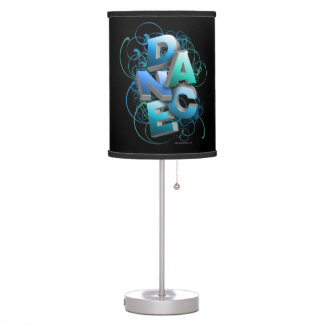 danza 3D (primavera) Lámpara De Mesilla De Noche