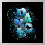 danza 3D (primavera) Poster