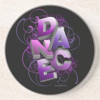danza 3D (verano) Posavasos Diseño