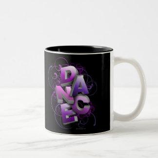 danza 3D (verano) Tazas De Café