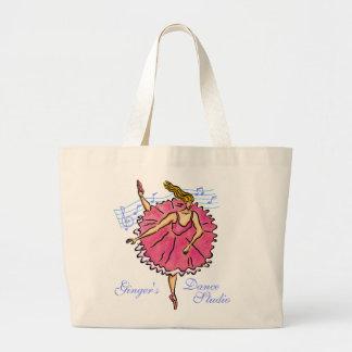 Danza a la bolsa de asas del personalizable de la