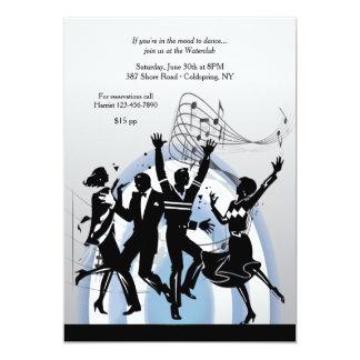 Danza a la invitación de la música