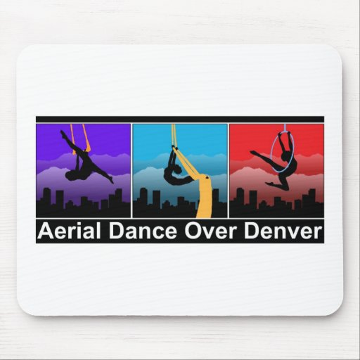 Danza aérea sobre Denver Alfombrilla De Raton