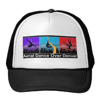 Danza aérea sobre Denver Gorras De Camionero