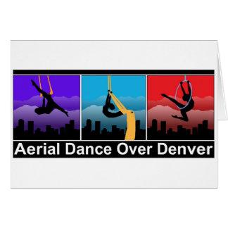Danza aérea sobre Denver Tarjeta De Felicitación