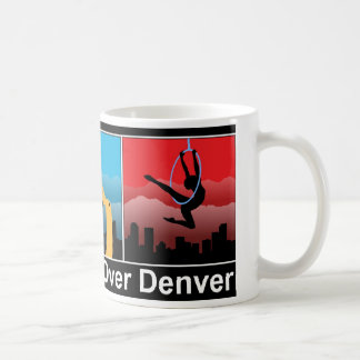 Danza aérea sobre Denver Taza De Café
