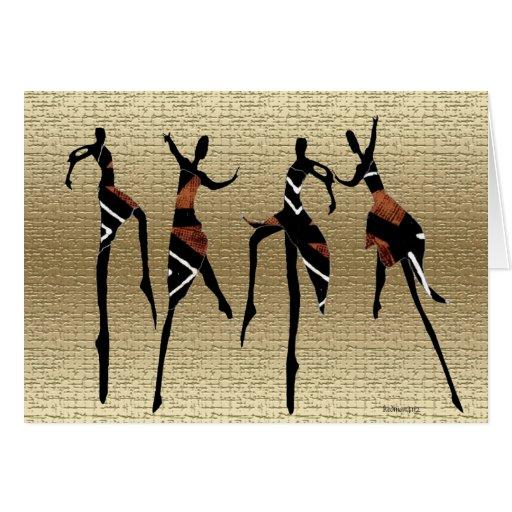 Danza africana Group1 Tarjetas