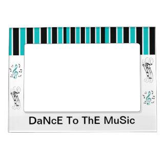 Danza al marco magnético de la música marcos magneticos para fotos