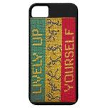 danza animada iphone5 del reggae iPhone 5 Case-Mate carcasas