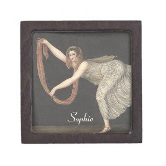 Danza Annette Kobler Amsterdam 1812 del Caja De Recuerdo De Calidad