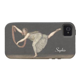Danza Annette Kobler Amsterdam 1812 del Vibe iPhone 4 Fundas