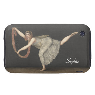 Danza Annette Kobler Amsterdam 1812 del iPhone 3 Tough Fundas