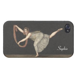 Danza Annette Kobler Amsterdam 1812 del iPhone 4/4S Fundas