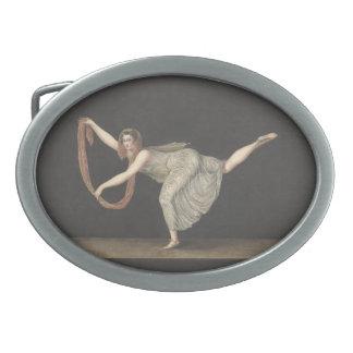 Danza Annette Kobler Amsterdam 1812 del Hebilla De Cinturón Oval