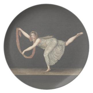 Danza Annette Kobler Amsterdam 1812 del Plato De Comida