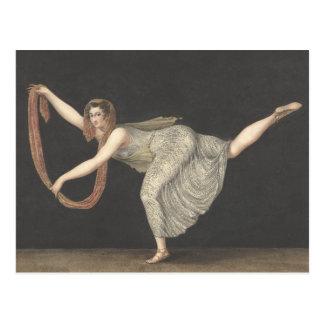 Danza Annette Kobler Amsterdam 1812 del Postal